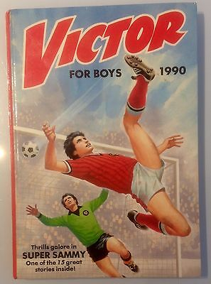 The Victor Book For Boys Annual 1990