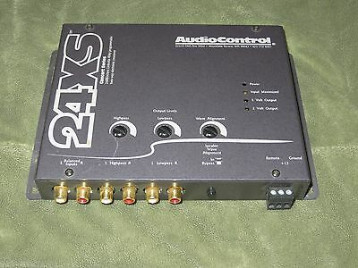 AudioControl 24XS Concert Series Two-Way Electronic Crossover