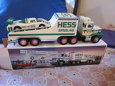 Hess 1988 Toy truck and racer set