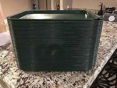 Qty 45 Carlisle - 14 in x 10 in Fast Food Tray Restaurant Cafeteria Cambro