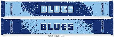 Auckland Blues Super Rugby Splash Jacquard Scarf! BNWT's!