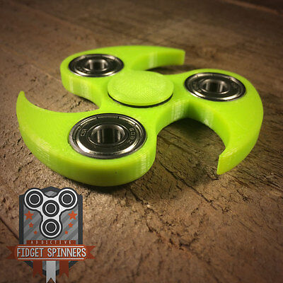 EDC Spinner Ninja Star Fidget Toy With Caps **ships out within 24 hrs**