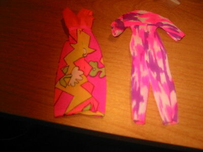 Rock Flower Doll Jumpsuit and Long Dress Only in  Good Condition