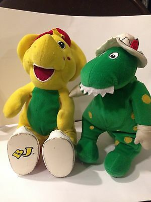 Dorothy The Dino Talking And Barney Friend BJ Plush