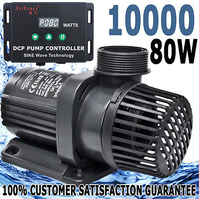 Jebao DCP Controllable ECO Aqua Submersible Pond Water Pump 10000 L/H