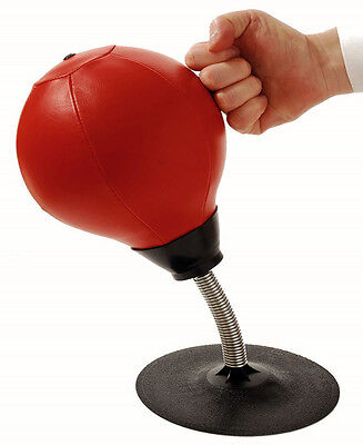 Fun Relief Stress Buster Desktop Punching Ball Super Strong Suction -Great Gift