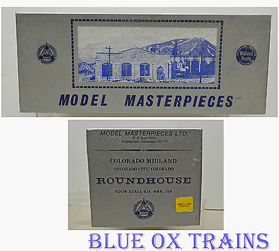 Model Masterpieces 114 HO/HOn3 Colorado Midland Roundhouse Kit