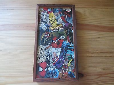 Key holder, Marvel comic collage art, Spider-man! Hand made one of a kind!