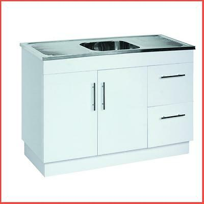 Stainless Steel Sink With Polyurethane Cabinet Laundry Tub or Kitchen cabinet