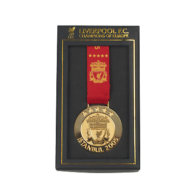 Liverpool FC  LFC Istanbul 05 Medal Official