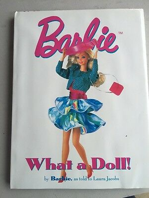 Barbie What a Doll! By Laura Jacobs Book Guide Fashions 1963-1989