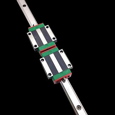 HGR15 1000mm Linear Rail Guide & 2pc HGW15CC Rail Block Carriage CNC Kit