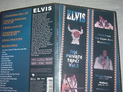 Elvis Presley Dvd- The Private Tapes Vol.3