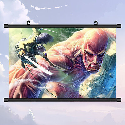 Home Decor Japan Wall poster Scroll Attack Armored Titan Titan Cosplay Gift #1