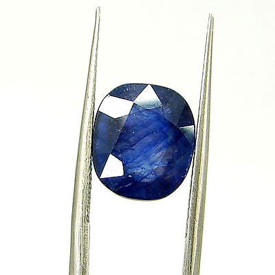 Certified Natural 5.66 Ct Blue Sapphire Loose Oval Gemstone - 117259