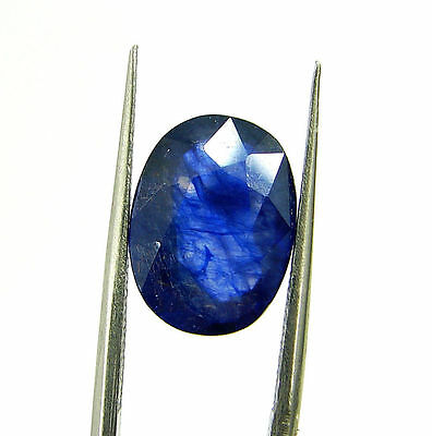 Certified Natural 5.45 Ct Blue Sapphire Loose Oval Gemstone - 117231