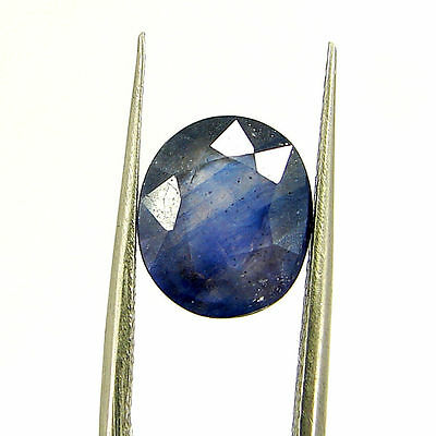 Certified Natural 4.14 Ct Blue Sapphire Loose Oval Gemstone - 117270