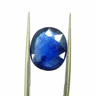 Certified Natural 5.03 Ct Blue Sapphire Loose Oval Gemstone - 117238