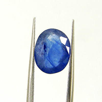 Certified Natural 3.27 Ct Blue Sapphire Loose Oval Gemstone - 117151
