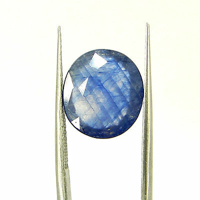 Certified Natural 5.40 Ct Blue Sapphire Loose Oval Gemstone - 117263