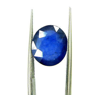 Certified Natural 5.83 Ct Blue Sapphire Loose Oval Gemstone - 117171