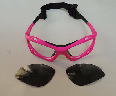 One pair Lens of Polarized Sunglasses for Kiteboarding kitesurfing windsurfing.