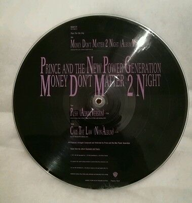 Prince LP Picture Disc