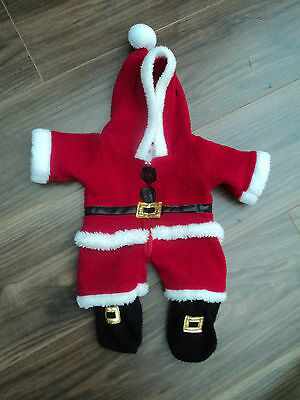 Build a bear Father Christmas outfit