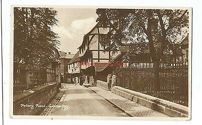 Warks Coventry Priory Row Real Photo 1924 Vintage Postcard 10.9