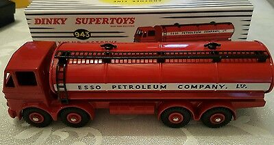 DINKY Replica Leyland Octopus Esso Petrol Tanker with Cert of Authenticity.
