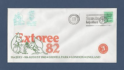 Scout Philatelic Cover - Extoree 1982 Gilwell Park
