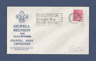 Scout Philatelic Cover - 46th Gilwell Reunion (1972)