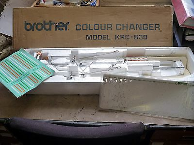 Brother KRC-830 Double Bed Colour Changer for Knitting Machine with Ribber