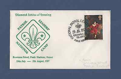 Scout Philatelic Cover - National Patrol Leader's Camp (1967)