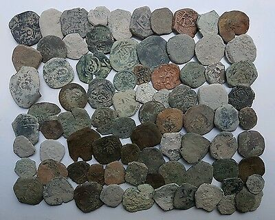*Prados* LOT OF 80 PIRATE COBS SPANISH COLONIAL COINS
