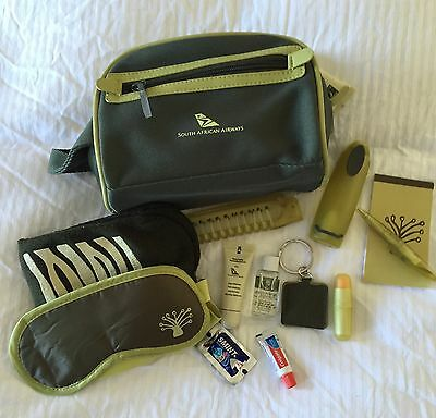 South African Airways Business Class Amenity Kit - Style 2.
