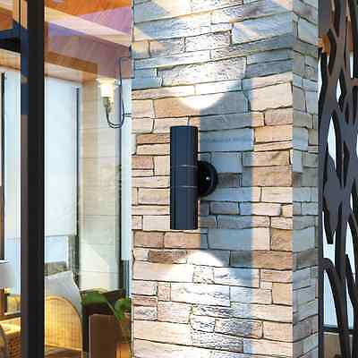 S# Modern LED Wall Light Sconce Fixture Lamp Steel Patio Industrial Outdoor Indo