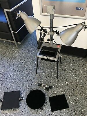 Bolex 8mm Cine Film Titler / Copy Stand