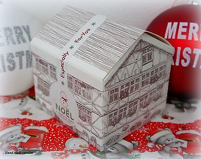40 Owl Melts in cute house shaped gift boxes