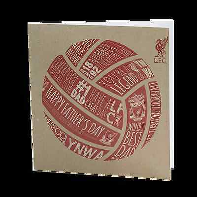 Liverpool FC  LFC Happy Fathers Day Card Official