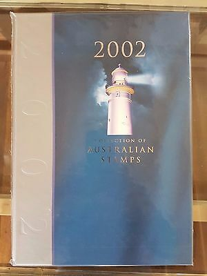 The Collection of 2002 Australian Stamps, Album Deluxe Edition