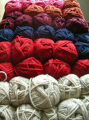 Knitting wool Stylecraft Chunky Assorted Colours 38 x 100grms New/Banded