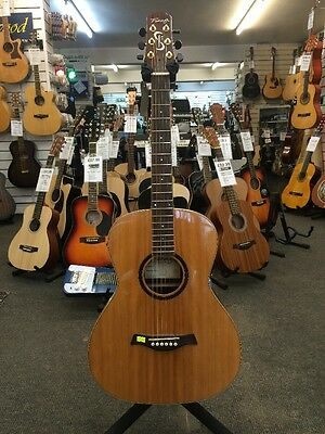 Fairclough Star Parlour Electro-Acoustic 6-String Guitar Right-Handed