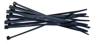 Box of 15,000 Black Nylon Cable Ties 200mm x 4.8mm - Non Releasable - Zip Tie