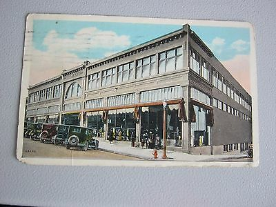 Early American Postcard --- Holmans Department Store ( 1926 )