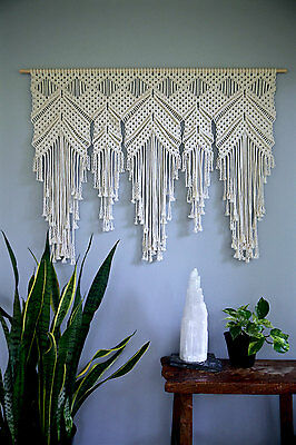 Ease Of Use True Modern Home Decorative Christmas Gift Macrame Wall Hanging
