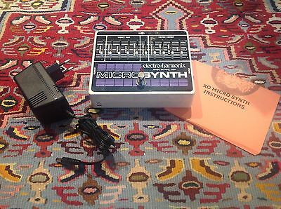 Electro Harmonix EHX MicroSynth Guitar Synth Pedal