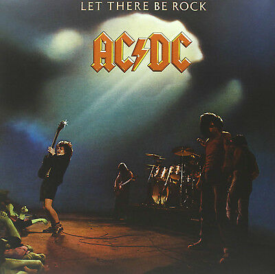 AC/DC - Let There Be Rock - 180gram Vinyl LP *NEW & SEALED*