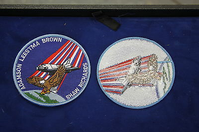 Lot of 5 RARE NASA Space Shuttle Columbia STS 28 Mission Patches