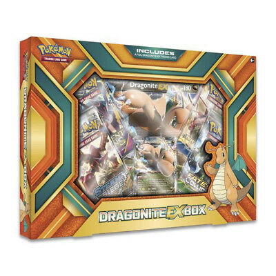 Pokemon TCG Dragonite EX Box Collection Box Trading Card